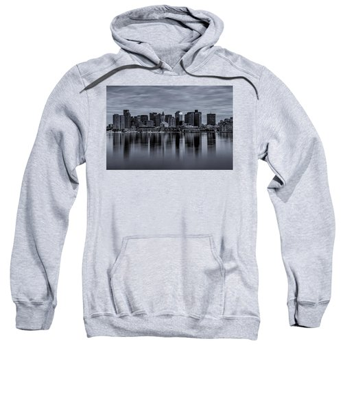 Boston In Monochrome Sweatshirt