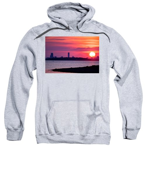 Boston Skyline Worlds End Sweatshirt