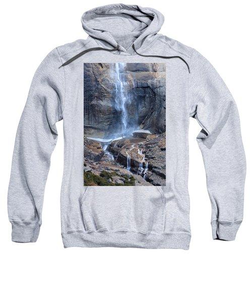 Bottom Part Of Upper Yosemite Waterfall Sweatshirt