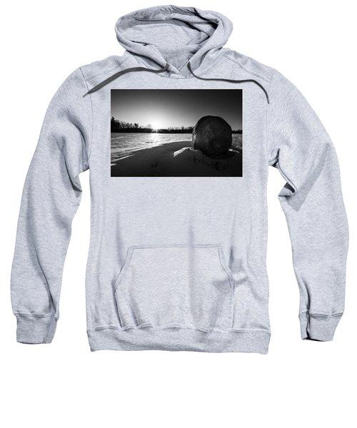 Boulder At Sunset Sweatshirt