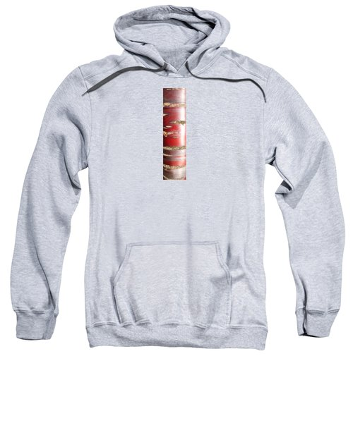 Sweatshirt featuring the photograph Bouleau Rouge by Marc Philippe Joly