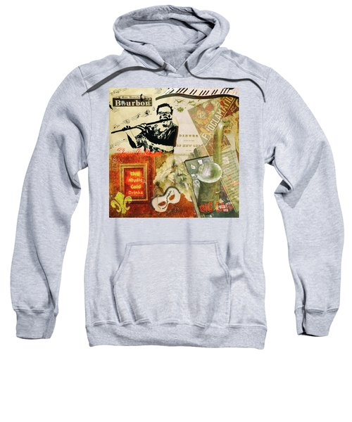 Bourbon Street Collage Sweatshirt