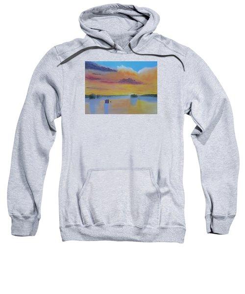 Bow Lake Ice Fishing Sweatshirt