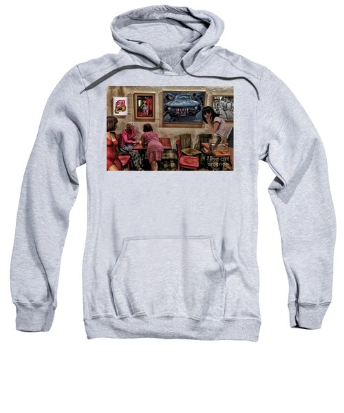 Boxhead Boy Caught Wandering Off Sweatshirt