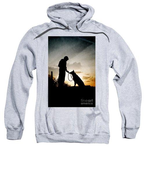 Boy And His Dog Sweatshirt