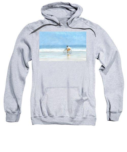 Boy On A Bike  One Sweatshirt