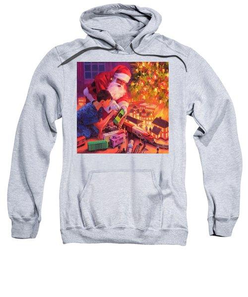 Boys And Their Trains Sweatshirt