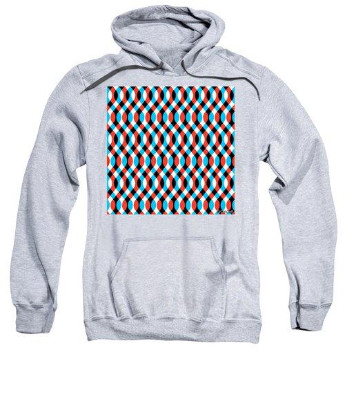 Brain Waves - Blue Sweatshirt