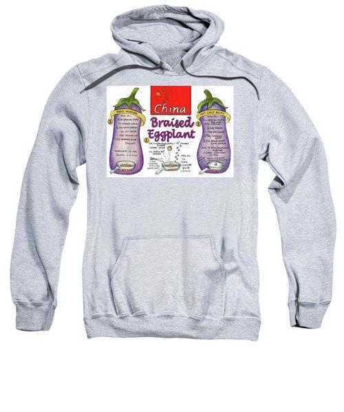 Braised Eggplant Sweatshirt