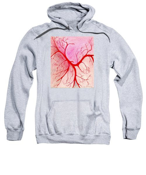 Branches Of Red Sweatshirt