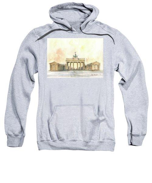 Brandenburger Tor, Berlin Sweatshirt