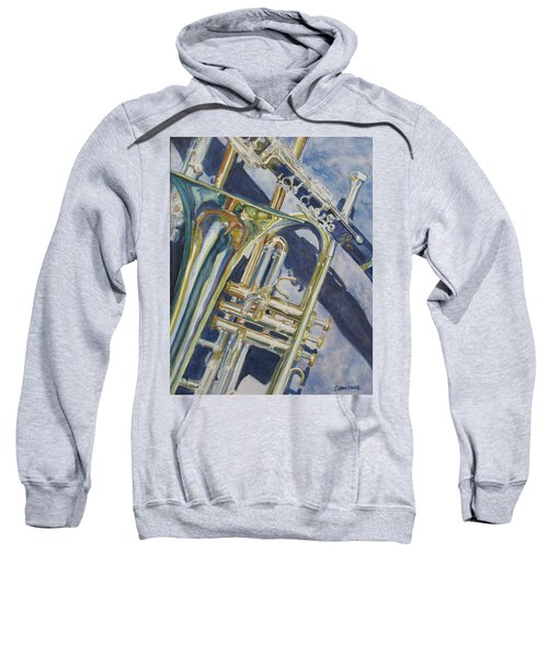 Brass Winds And Shadow Sweatshirt