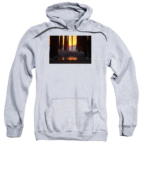 Breaking Dawn At The Pier Sweatshirt