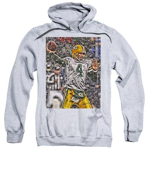 Brett Favre Green Bay Packers 2 Sweatshirt