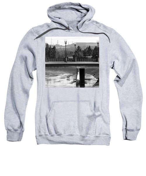 Bridge And Shopping Cart Sweatshirt
