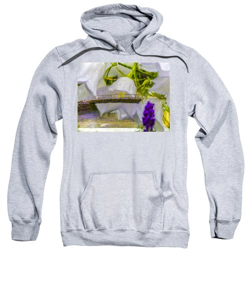Bridge Flower.  Sweatshirt