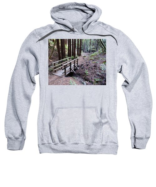 Bridge In The Redwoods Sweatshirt