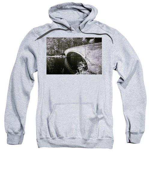 Bridge Over Infrared Waters Sweatshirt