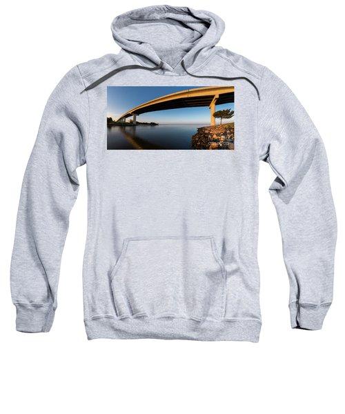 Bridge To Port St Joe, Florida Sweatshirt