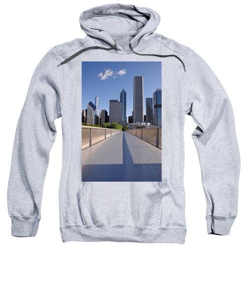 Bridgeway To Chicago Sweatshirt