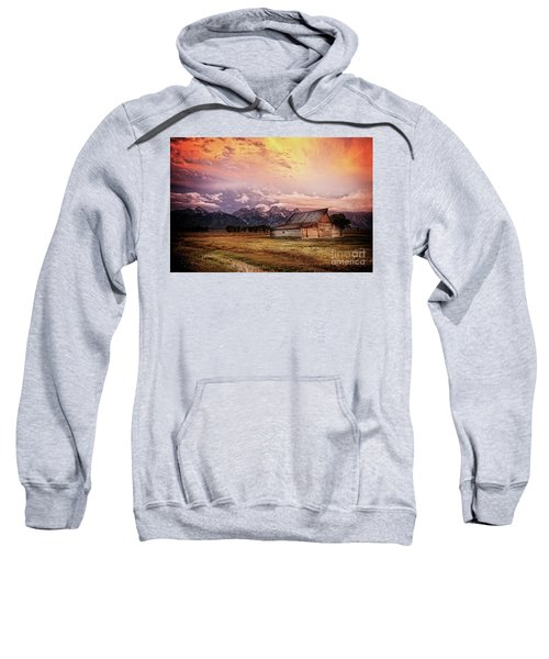Sweatshirt featuring the photograph Brilliant Sunrise by Scott Kemper