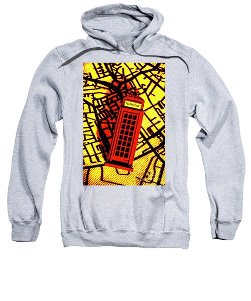 Brit Phone Box Sweatshirt