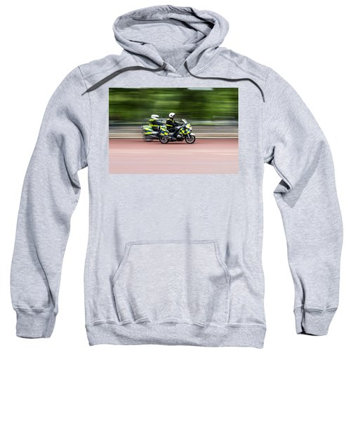 British Police Motorcycle Sweatshirt