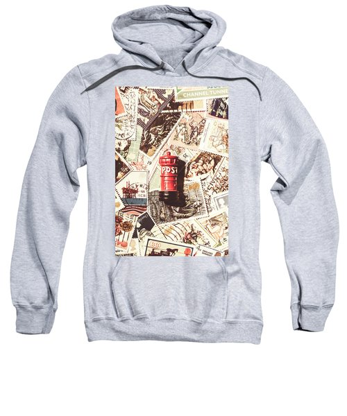 British Post Box Sweatshirt
