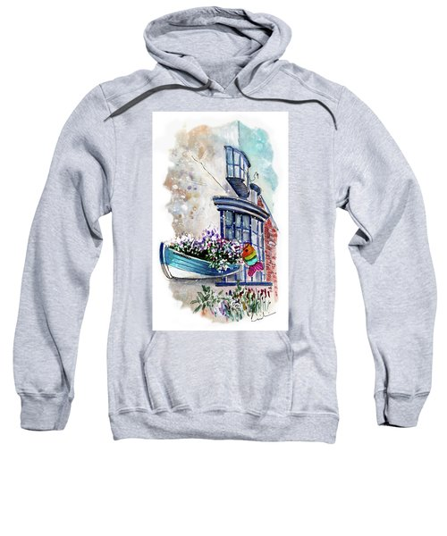 Broadies By The Sea In Staithes Sweatshirt