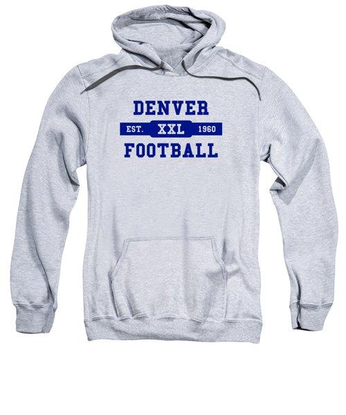 Broncos Retro Shirt Sweatshirt by Joe Hamilton