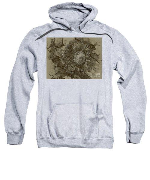 Bronzed Out Sunflower Sweatshirt