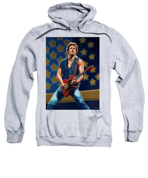 Bruce Springsteen The Boss Painting Sweatshirt