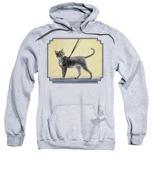 Brushing The Cat - No. 2 Sweatshirt