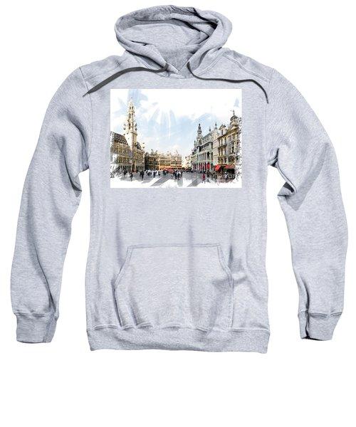 Brussels Grote Markt  Sweatshirt