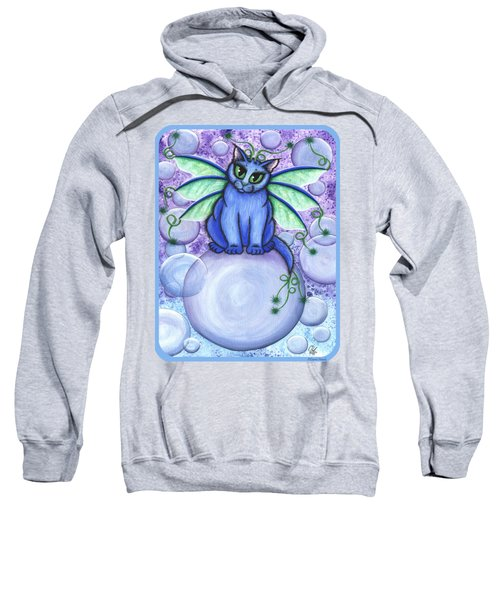 Bubble Fairy Cat Sweatshirt