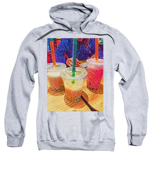 Bubble Tea For Three Sweatshirt