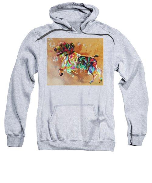Bubbles  English Springer Sweatshirt