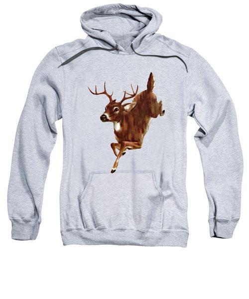 Buck On The Run Sweatshirt