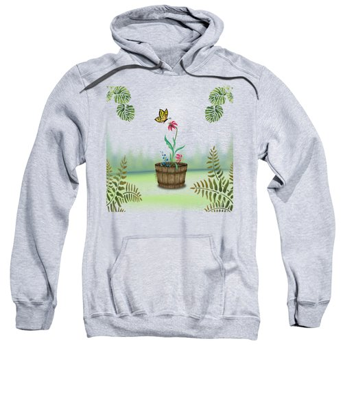 Bucket Butterfly 1 Sweatshirt