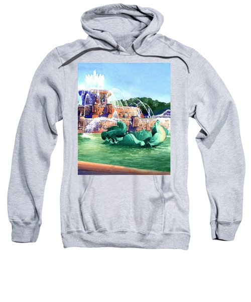 Buckingham Fountain Sweatshirt