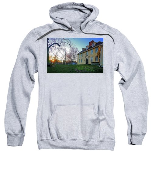 Buckman Tavern At Sunset Sweatshirt