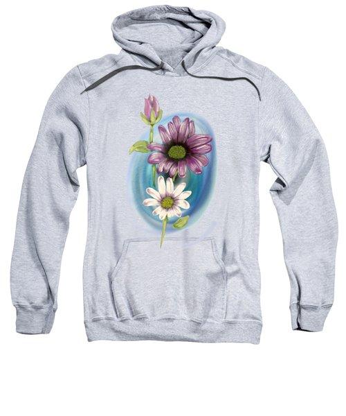 Bud And  Flowers Sweatshirt