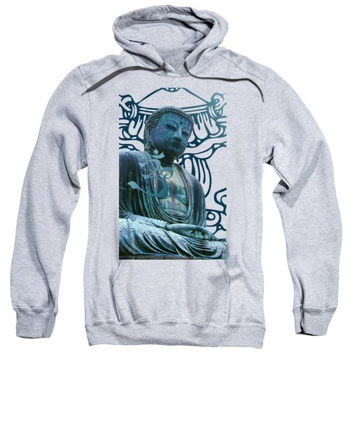 Buddha Great Statue Sweatshirt