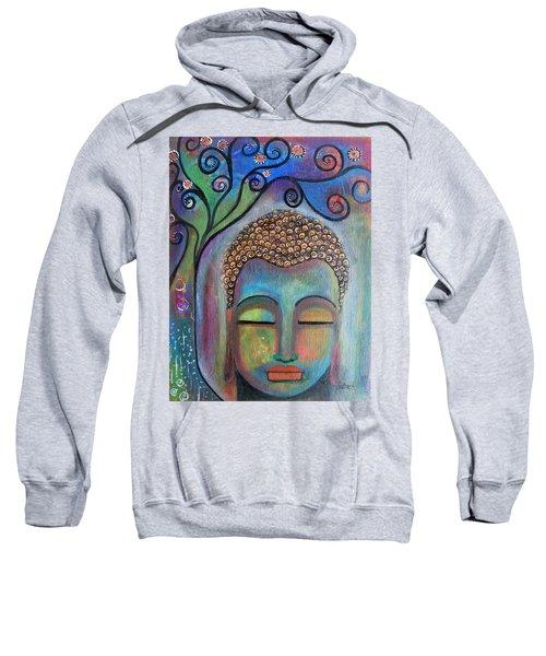 Buddha With Tree Of Life Sweatshirt