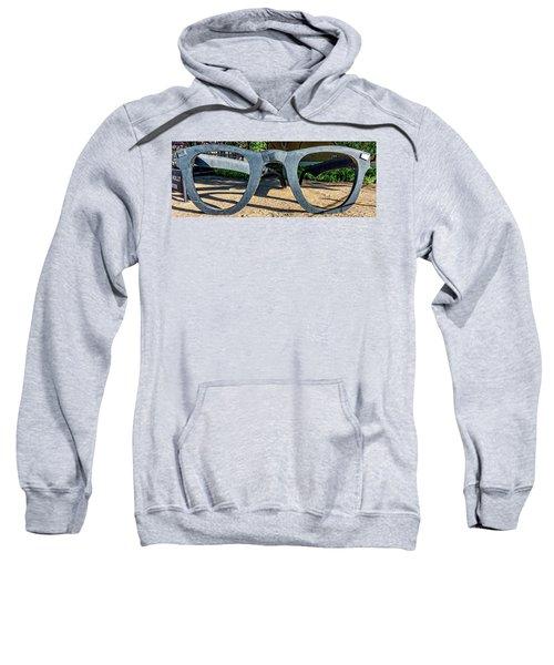 Buddy Holly Glasses Sweatshirt