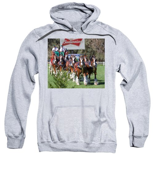 Budweiser Clydesdales Perfection Sweatshirt