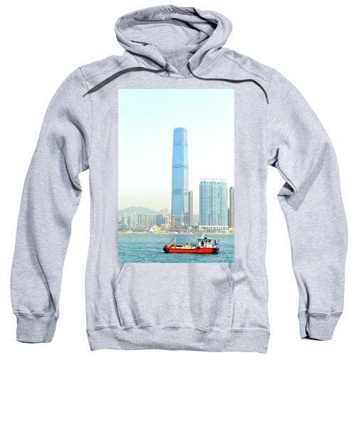 Building And Boat Sweatshirt