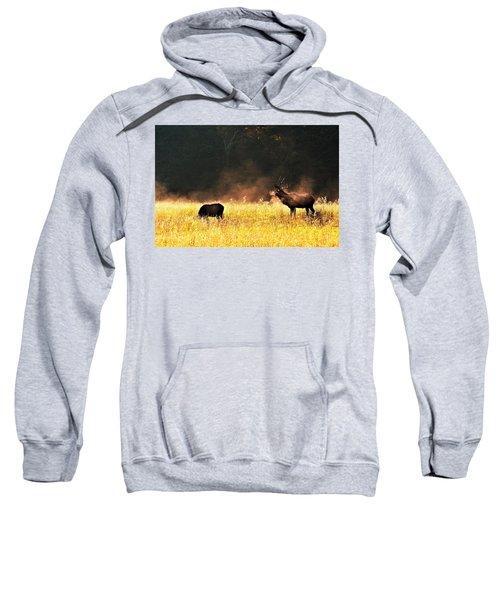 Bull With His Girl Sweatshirt