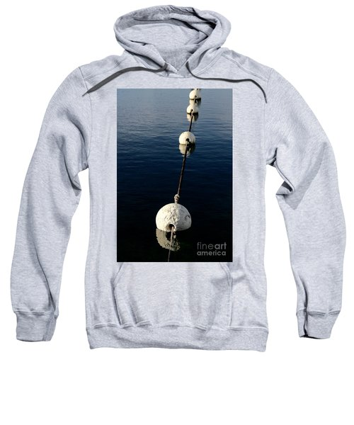 Sweatshirt featuring the photograph Buoy Descending by Stephen Mitchell