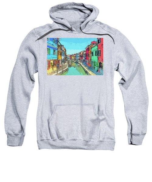 Burano Sketch Sweatshirt